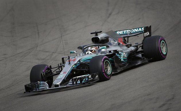 Lewis Hamilton během Velké ceny Ruska.
