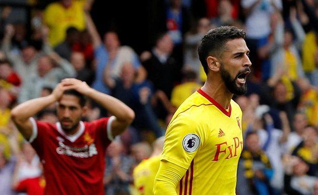 Radost a smutek. Watford porazil Liverpool v 1. kole nové sezóny Premier league.