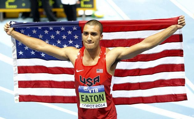 Američan Ashton Eaton se stal halovým mistrem světa v sedmiboji.