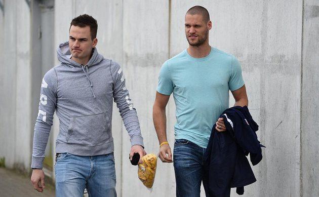 Petr Zámorský (vlevo) a Michal Jordán.
