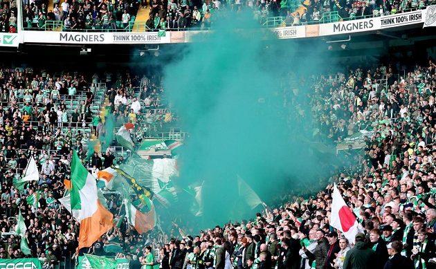 Fanoušci v Celtic Parku