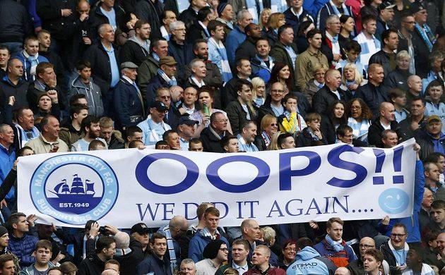 Fanoušci Manchesteru City slaví titul v Premier League.