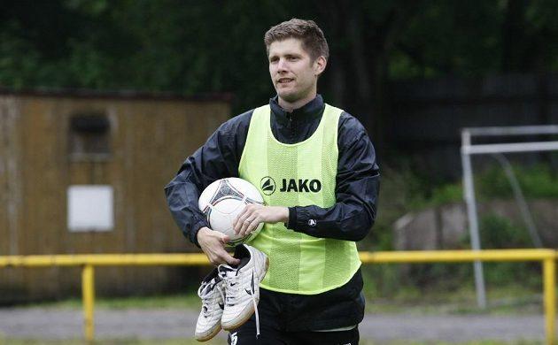 Radek Hochmeister na tréninku Votroků.