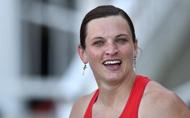 Česká běžkyně Lucie Škrobáková během Memoriálu Josefa Odložila.