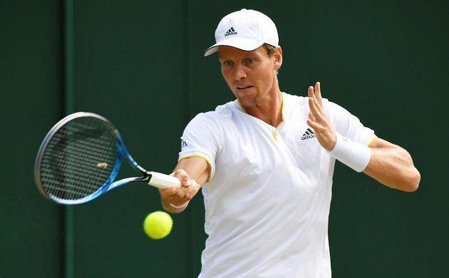 Tomáš Berdych zatím prochází letošním Wimbledonem bez zakolísání.