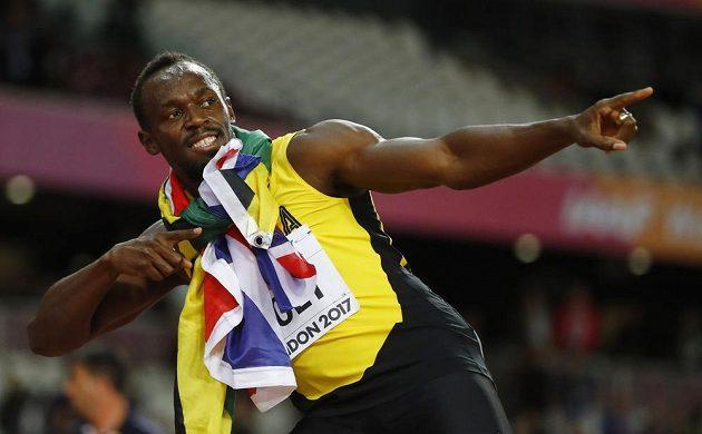 Tradiční Boltovo gesto...