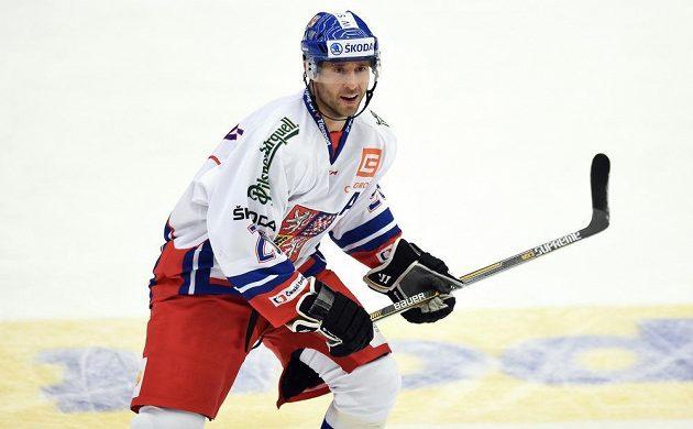 Útočník Martin Ručínský si ve čtvrtečním utkání s Ruskem připsal jednu asistenci.
