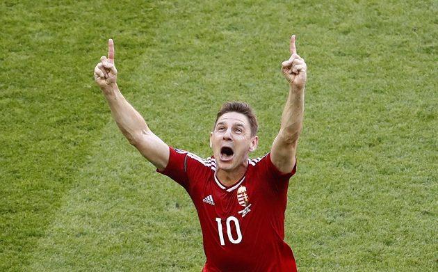 Zoltán Gera se raduje ze svého gólu proti Portugalsku.