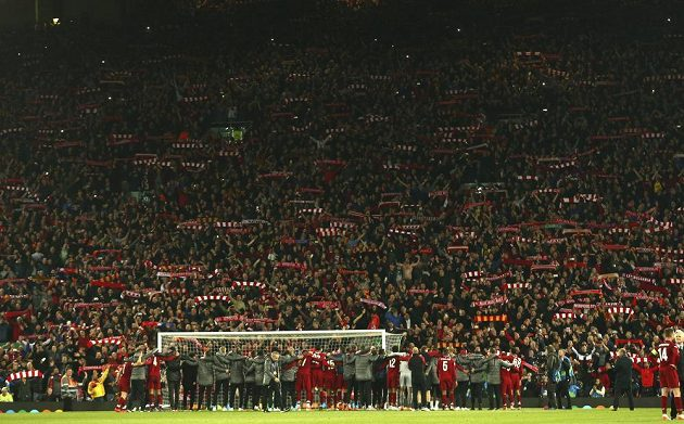 Jásající Anfield!