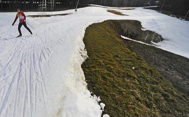 Tratě v Novém Městě na Moravě, kde se o víkendu 11. a 12. ledna pojedou závody Světového poháru v běhu na lyžích.