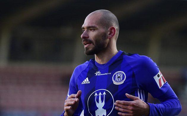 Autor prvního gólu Olomouce Michal Vepřek.