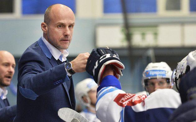 Hlavní trenér Plzně Martin Straka.