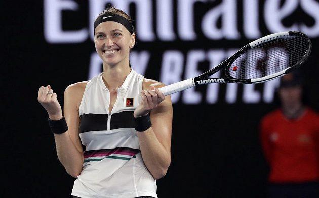 Dokázala to. Petra Kvitová je po výhře nad Danielle Collinsovou ve finále Australian Open.