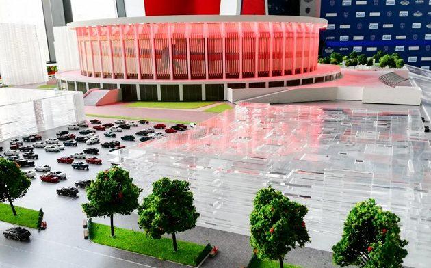 V Petrohradu vyroste největší hokejová aréna na světě.