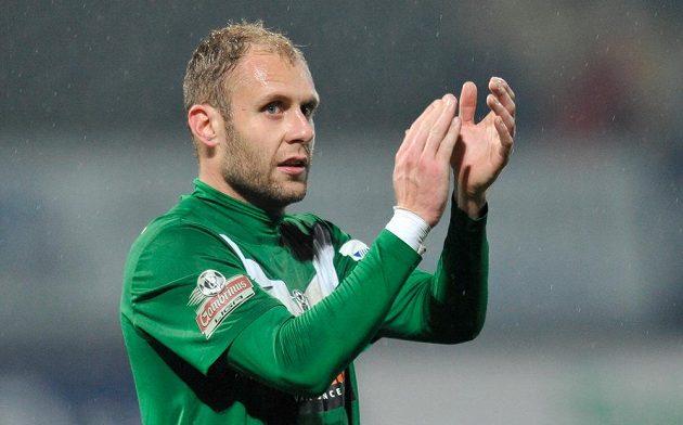 Jablonecký útočník Michal Hubník zaznamenal v utkání proti Příbram hattrick.