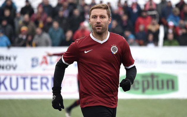 Sparťan Milan Fukal vstřelil v Silvestrovském derby parádní gól.