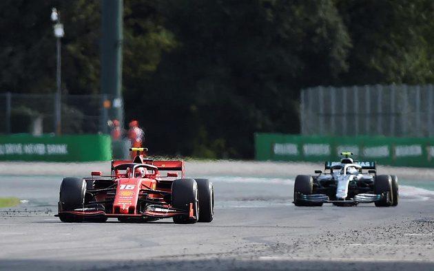 Velkou cenu Itálie vyhrál Charles Leclerc
