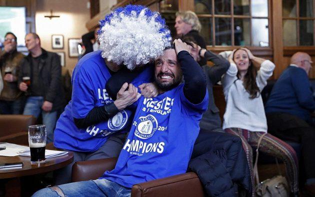 Byly to pořádné nervy pro fanoušky Leicesteru v hospodách.