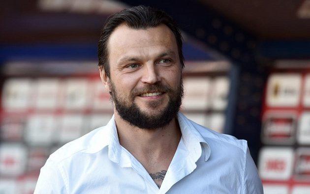 Tomáš Ujfaluši během utkání 30. kola Sparta - Jihlava.