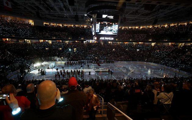 Aréna San Jose Sharks SAP Centre se pro Allstar game naplnila až po strop