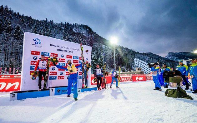 Ondřej Moravec (37) se těsně nevešel na stupně vítězů.