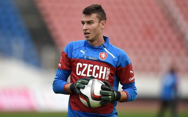 Jiří Pavlenka poprvé v kariéře nakoukl do seniorského reprezentačního výběru.