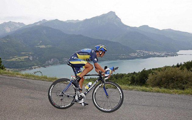 Roman Kreuziger se po skvělém výkonu v horské časovce posunul v průběžném pořadí Tour na třetí místo.