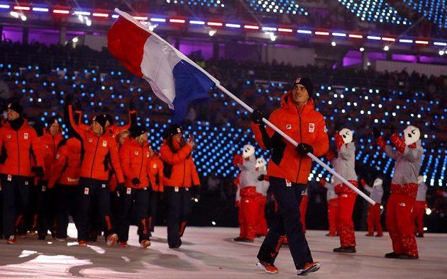 Slavnostní zahájení olympjských her v Jižní Koreji, nástup Nizozemska.