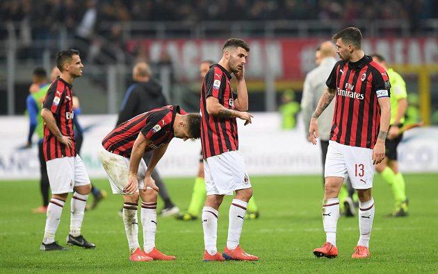 Fotbalisté AC Milán prohráli v italské lize derby s Interem.