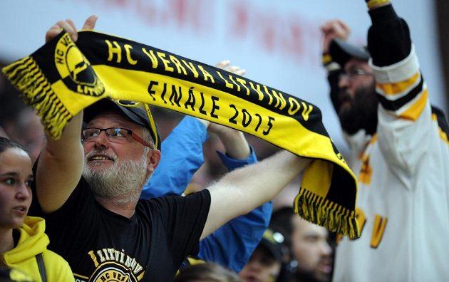 Litvínovští fanoušci.