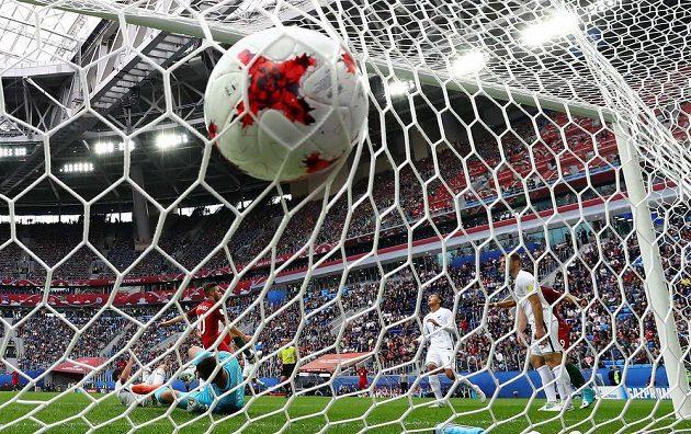 Portugalec Bernardo Silva právě skóroval proti Novému Zélandu na Poháru FIFA.