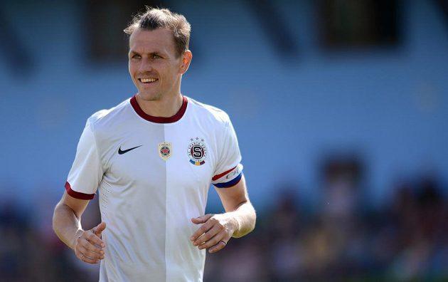 Ondřej Švejdík se stal na jeden zápas kapitánem Sparty.