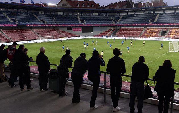 Otevřený trénink české fotbalové reprezentace před přátelským utkáním s USA a kvalifikací ME 2016 s Nizozemskem.
