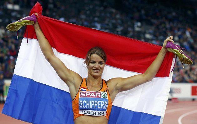 Sedmibojařka Daphne Schippersová z Nizozemska se tentokrát vrhla na sprint a bylo z toho dvojnásobné zlato.