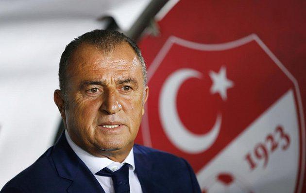 Kouč tureckých fotbalistů Fatih Terim.