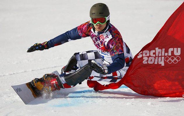 Ruský snowboardista Vic Wild ovládl závod v paralelním obřím slalomu.