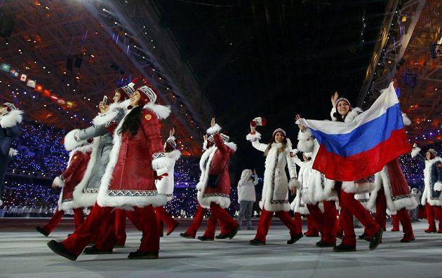 Rusové ve výběru olympijského oblečení tak nějak vsadili na tradici.