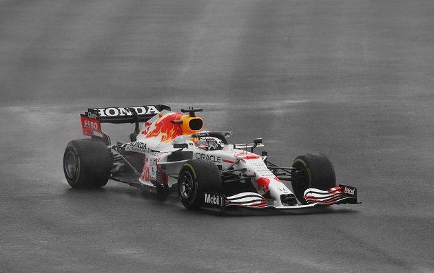 Jezdec Red Bullu Max Verstappen