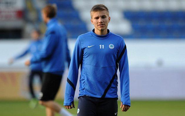 Obránce Slovanu Liberec Martin Frýdek