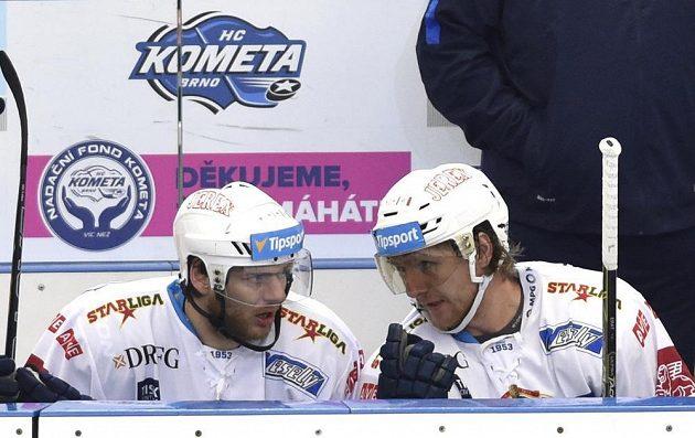 Brněnský Roman Erat (vlevo) a jeho bratr Martin