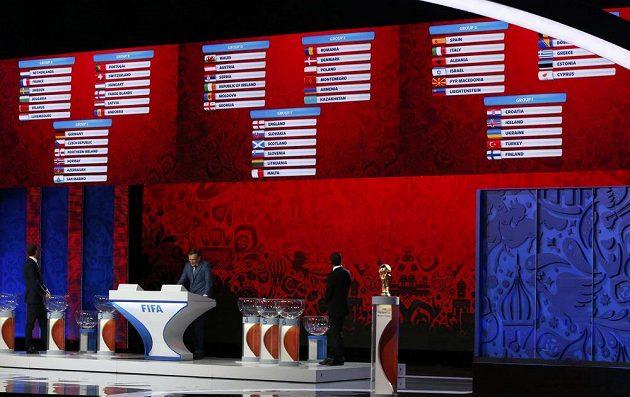 V Petrohradu byla rozlosována kvalifikace fotbalového MS 2018.