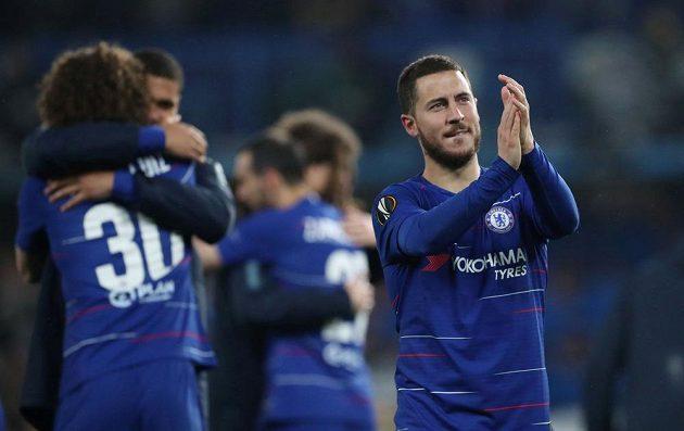 Fotbalisté Chelsea slaví postup do finále Evropské ligy