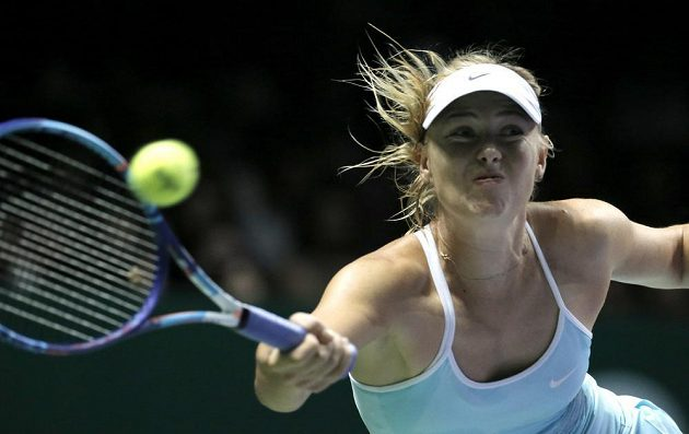 Maria Šarapovová postoupila do semifinále Turnaje mistryň jako vítězka Červené skupiny.