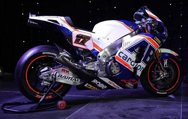 Od motorky Honda má český závodník v novém ročníku velká očekávání.