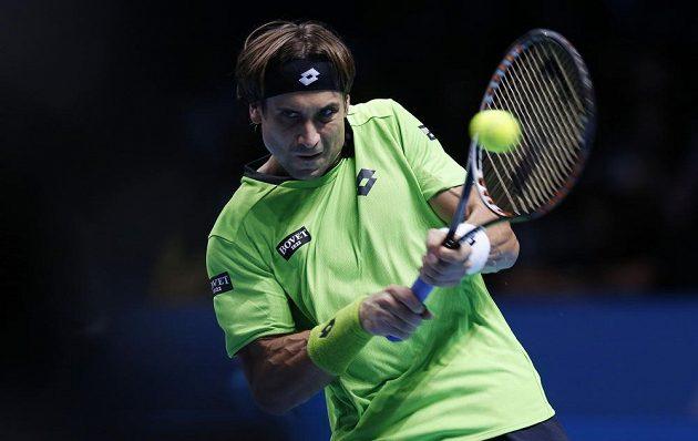 Španělský tenista David Ferrer.