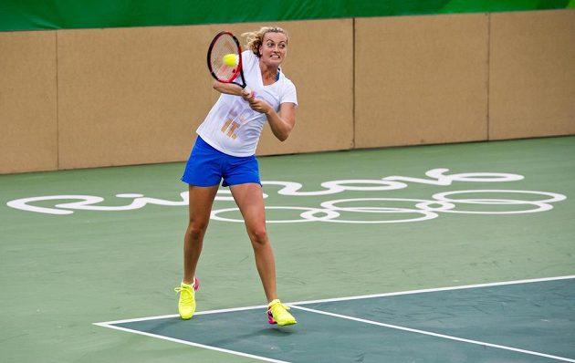 Česká tenistka Petra Kvitová v Riu de Janeiro.