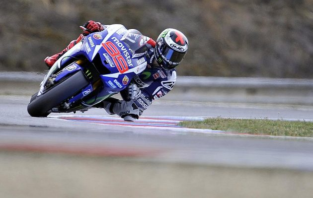 Jorge Lorenzo ovládl kvalifikaci na brněnskou GP.