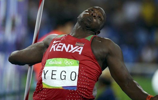 Keňský oštěpař Julius Yego svým dlouhým hodem ve finále své soupeře zaskočil.