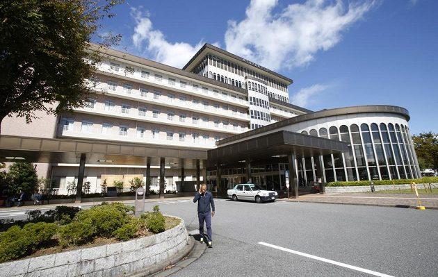 Nemocnice v Jokkaiči, kde bojuje o život pilot formule 1 Jules Bianchi.