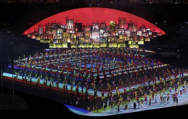 Slavnostní zahájení olympijských her v Riu.